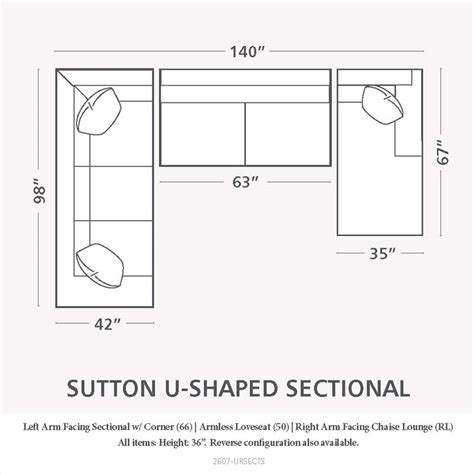 Sectional Sofa Dimensions by Sectional Sofas Sizes Houston Sectional Sofa Schematic