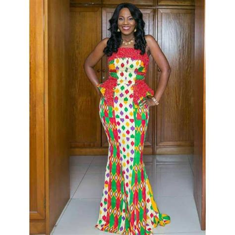 latest ghana kaba  slit styles   occasion swiftfoxx