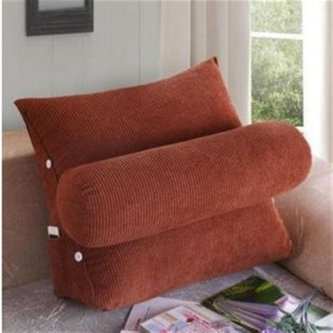 pillow seat for bed lumbar pillow plush back cushion waist pillow for sofa car