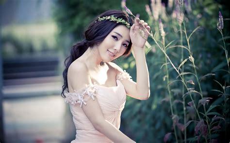 most beautiful flower bouquets hot girls wallpaper 唯美图片女生侧脸高清电脑桌面壁纸 美女壁纸 壁纸下载 美桌网