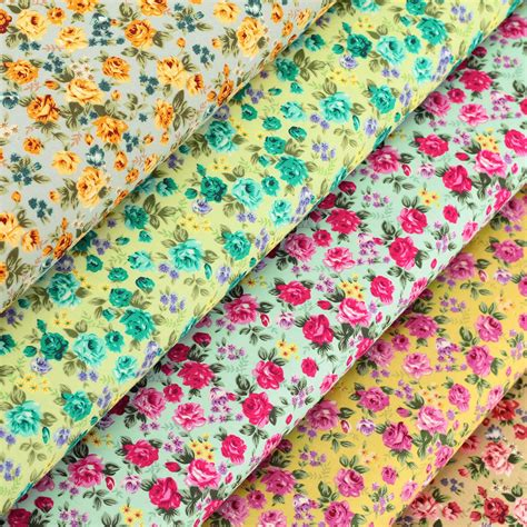 vintage fabric by shabby chic cotton fabric per fq flower shabby vintage retro chic quilt patchwork vk86 ebay