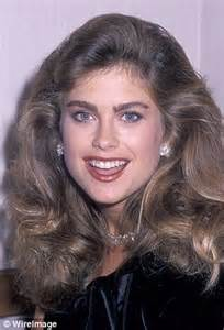 1980s celebrity hairstyles allnewhairstyles com kathy ireland stuns miss america by belching on command