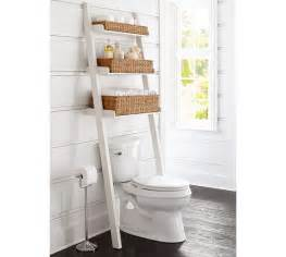 the toilet ladder ainsley over the toilet ladder pottery barn