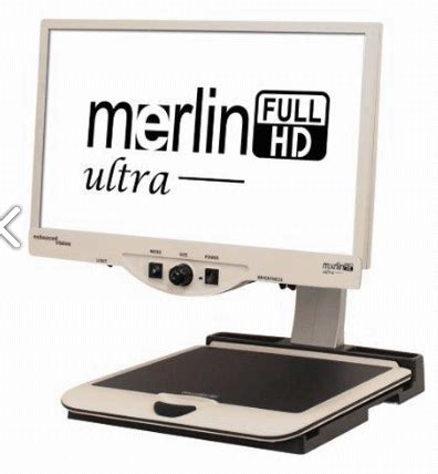 "merlin ultra 24"" video magnifier"