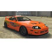 Toyota Supra Paul Walker Fast And Furious  Vehicules
