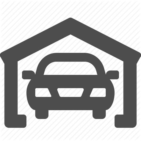 Garage Icon by Car Car Wash Garage Real Estate Vehicle Icon Icon