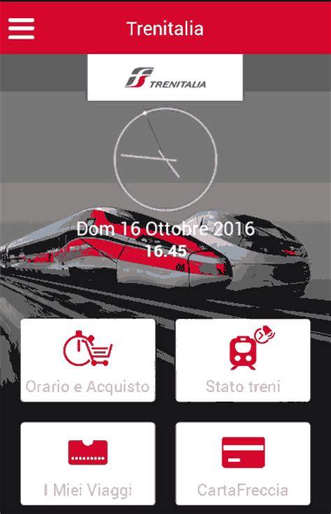 trenitalia it mobile trenitalia mobile app orari e prezzi per acquisto
