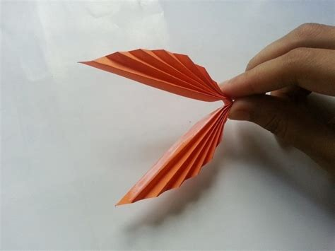 How To Make A Leaf Out Of Paper - diy paper leaf 183 how to make a paper model
