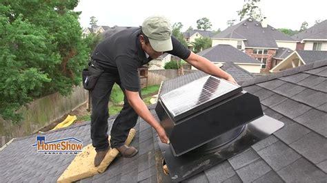 ridge vent vs attic fan solar attic fan vs ridge vents