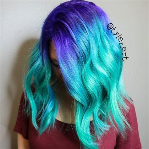 mermaid hair colors 20 gorgeous mermaid hair ideas from vibrant to pastel