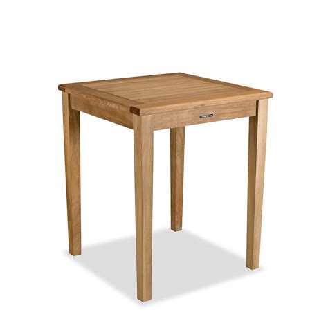 Small Counter Height Table small teak gathering table counter height bainbridge collection