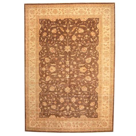 vegetable dye rugs afghan knotted vegetable dye oushak wool rug 11 8 x