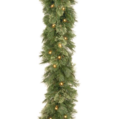 national tree company 9 ft wispy willow garland with