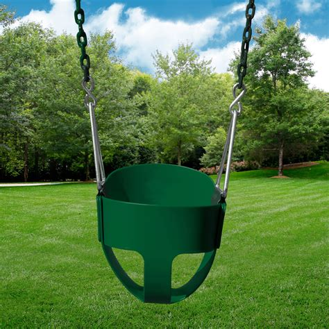 full bucket toddler swing gorilla playsets full bucket toddler safety swing for