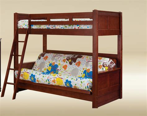 futon with twin bed on top twin over futon bunk bed big lots