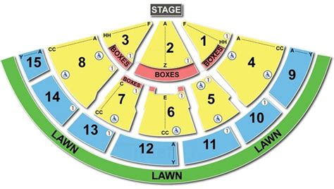 tweeter center seating chart xfinity center tickets xfinity center shedule events