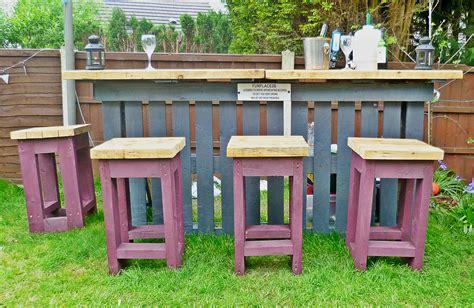 diy pallets garden bar home design garden