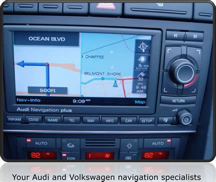 Audi Navigation System Plus Rns E Quick Reference Guide