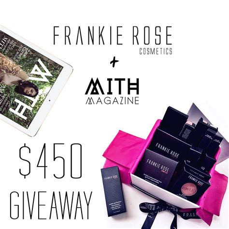 Frankie Giveaways - makeup giveaway contest style guru fashion glitz glamour style unplugged