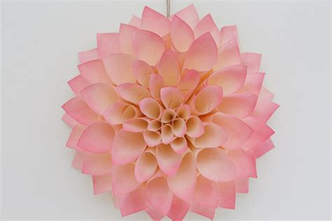 Make A Paper Weight - make a paper dahlia flower diy network made