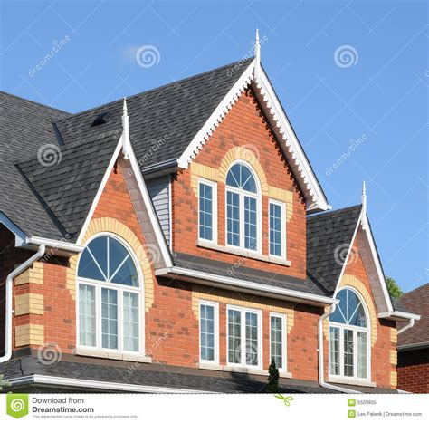 light brick house brick house in evening light royalty free stock photo image 5509805