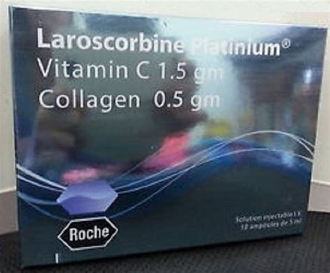 Vitamin C Collagen Roche new roche laroscorbine platinium vitamin c 1 5 gm