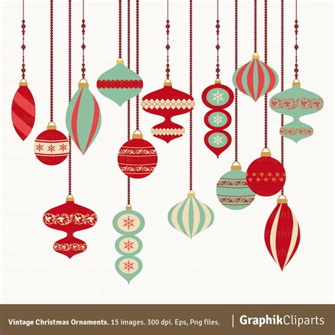 vintage ornaments vintage christmas ornaments clipart christmas clipart
