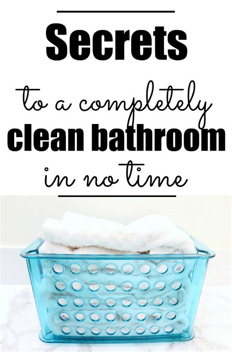 clean the bathroom 5 surprising tips to always have a clean bathroom