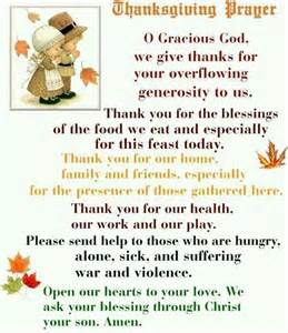 thanksgiving prayer thanksgiving