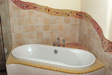 Mosaik Badewanne by Kunstmax De Wohnen Kreativ Gestalten