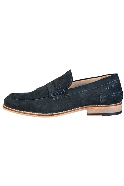 navy blue loafers white loafers shoes nelson navy blue mens new