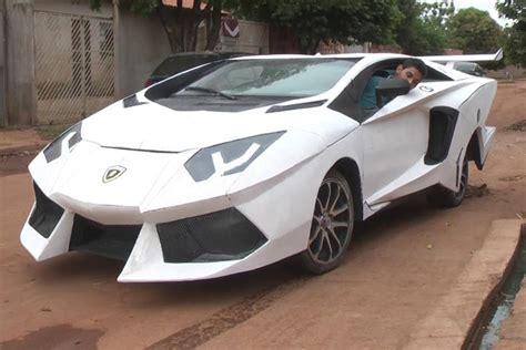 Lamborghini P Uno fiat uno vira lamborghini aventador nas m 227 os de f 227 de