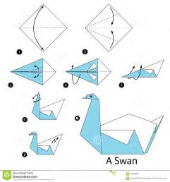 how to make origami cards step by step step by step how to make origami a swan