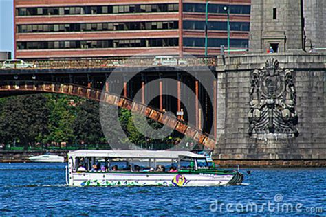 duck boat tours cambridge duck boat tours boston ma editorial photography image