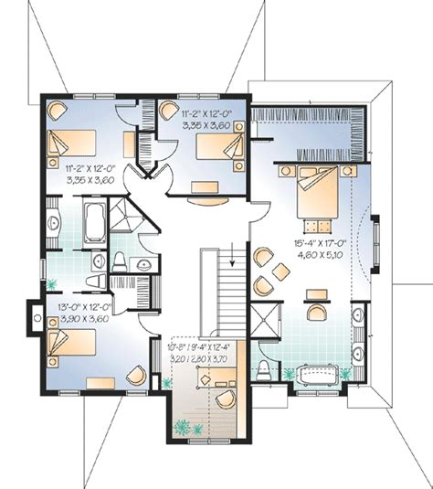 charmed house floor plan architectural designs