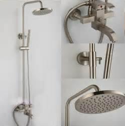 aliexpress buy brushed nickel bath shower