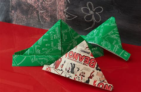 How To Make Nehru Cap Using Paper - how to make a paper hat goodtoknow
