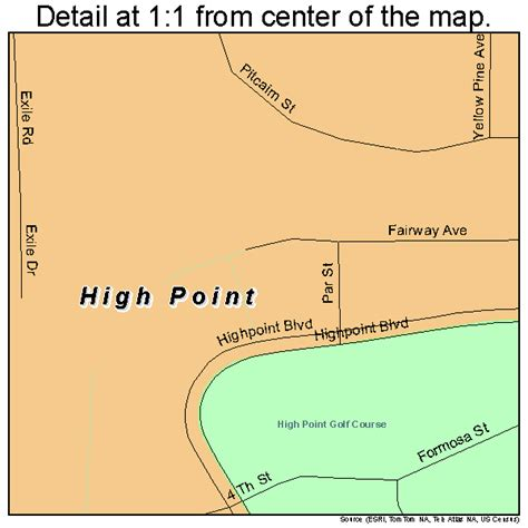 High Point Detox South Florida by High Point Florida Map 1230494