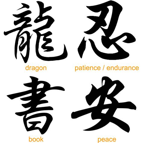chinese word tattoo designs 100 beautiful japanese kanji symbols designs