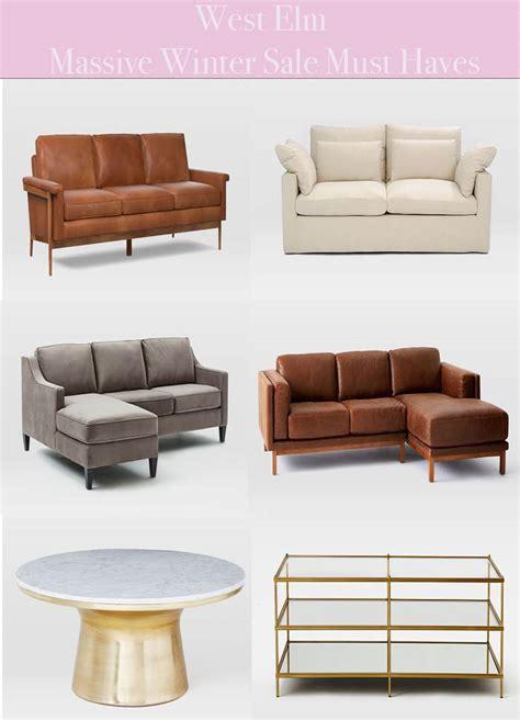 2018 west elm winter sale 20 furniture home