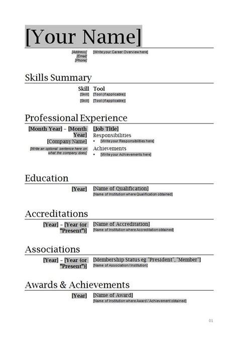 resume writing templates word forest jovenesambientecas co