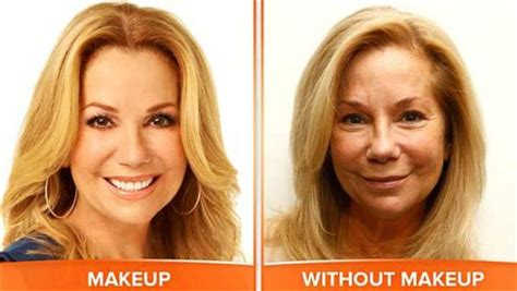 hoda and katie lee make overs today show anchors take it off on no make up monday