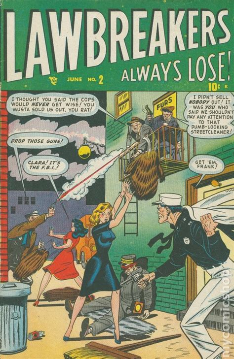 the lawbreakers books lawbreakers always lose 1948 comic books