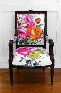 Printed Armchair Design Ideas Is Back Floral Design Large Flowers Floral Interiors