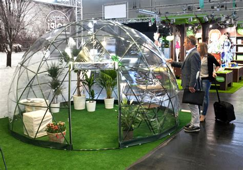 Backyard Dome by The Garden Igloo Is A Pop Up Geodesic Dome For Any