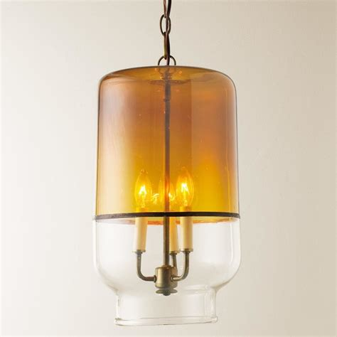 Recycled Glass Canister Pendant Light Pendant Lighting Recycled Glass Pendant Light