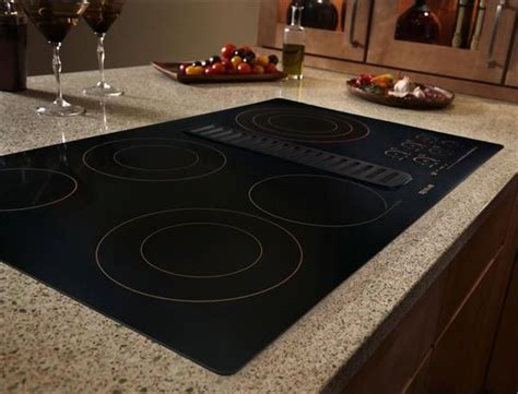 "Jenn Air® 36"" Electric Radiant Downdraft Cooktop with"