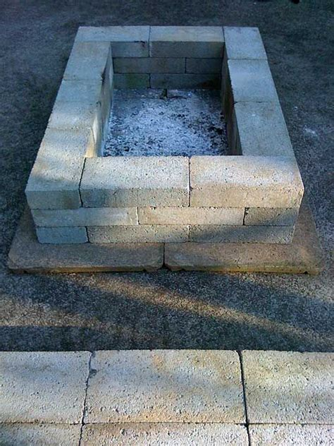 cinder block bench with back cinder block fire pit bench outdoor decor pinterest