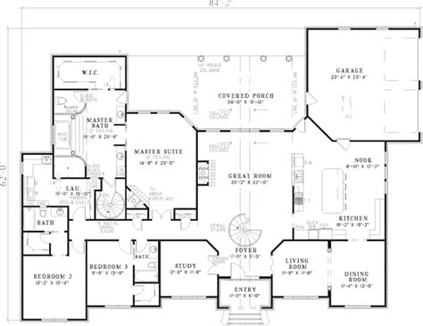 leroux brick ranch home plan 055s 0046 house plans and more