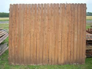 parker road wood fence panels pickets wylie texas gone